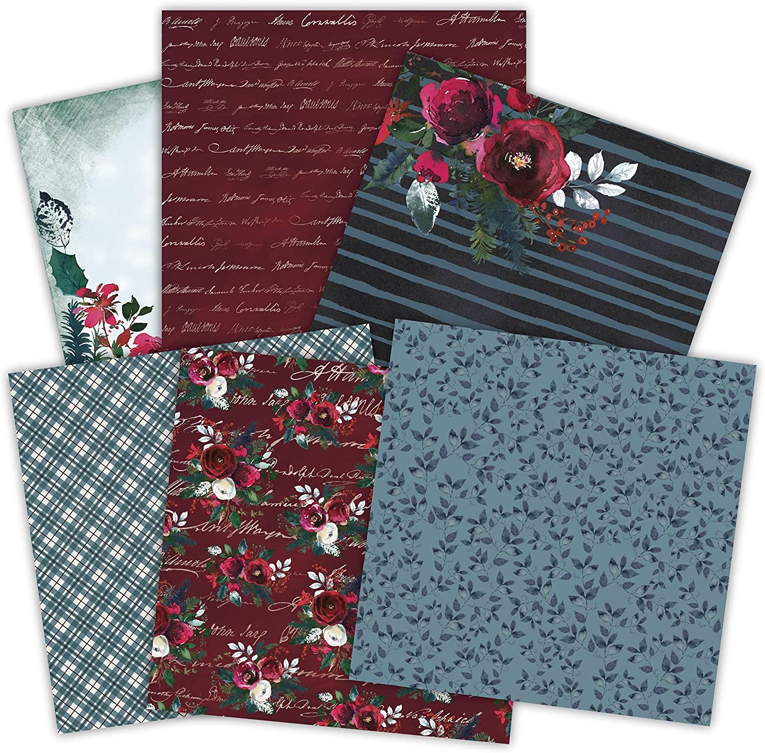 LTB DIY the scent of rose ha Scrapbooking paper 5 ☆ very popular 24sheets pack Oakland Mall