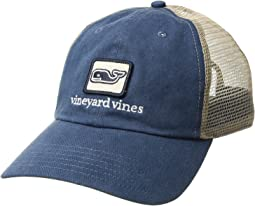 Vineyard Vines - Low Pro Decon Whale Trucker Hat
