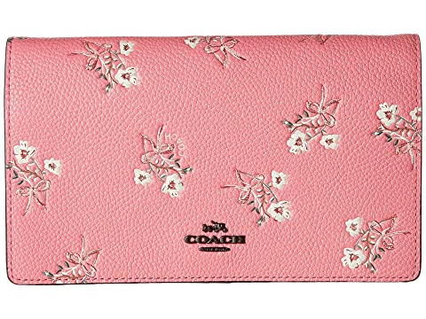 Coach Soft Wallet With Floral Bow Print Coach