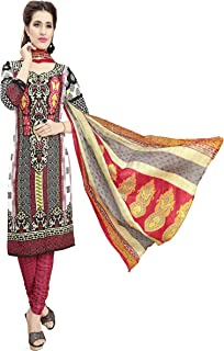 Minu salwar Cotton Printed Suit sets Multi(Joy_3006)