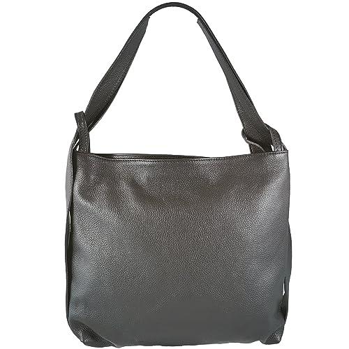 789a5c162c5c8 Freyday 2in1 Damen Handtasche Rucksack Designer Luxus Henkeltasche aus 100%  Echtleder