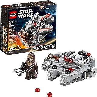 LEGO Star Wars 6212541 Millennium Falcon Microfighter 75193 Building Kit (92 Piece)