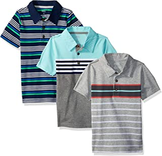 Toddler Boys' 3-Pack Short Sleeve Polo