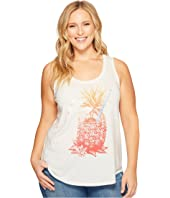 Lucky Brand - Plus Size Pineapple Tank Top