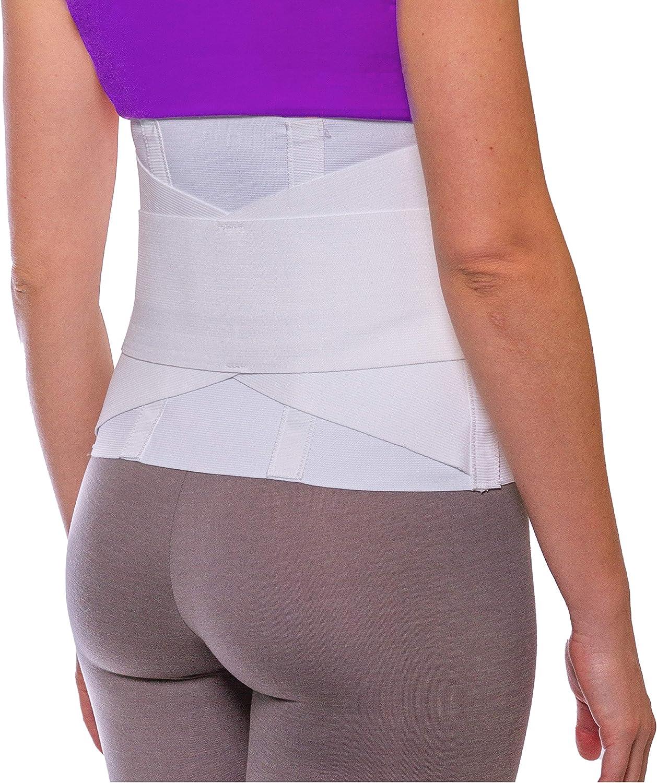 BraceAbility Women's Back Brace for Female Lower Back Pain - Lig