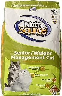 Nutri Source Cat Senior Weight Management Chicken/Rice Food