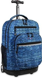 Sundance LAPTOP Rolling Backpack for Schooling & Travel, 20 inch