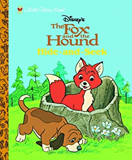 The Fox and the Hound: Hide and Seek (Little Golden Book)