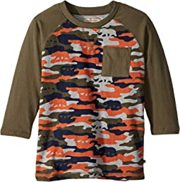 Lucky Brand Kids - Baseball Camo Tee (Little Kids/Big Kids)