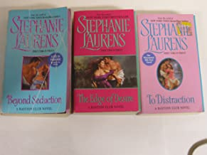 Stephanie Laurens, Bastion Club 3 Book Set (Beyond Seduction, To Distraction and Edge of Desire)