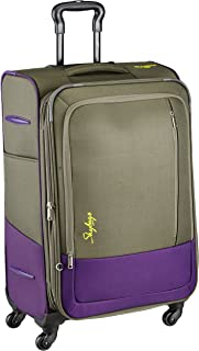 Skybags Footloose Romeo Polyester 58 cms Grey Softsided Carry-On (STROW58EGRY)