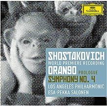 Shostakovich Orango Prologue Symphony No.4