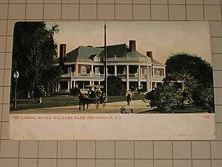 The Casino, Roger Williams Park, Providence, Rhode Island Post Card (Circa 1905)