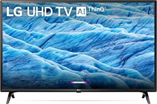 LG 49UM7300 49 Inch 4K ThinQ Smart UHD TV (Renewed)