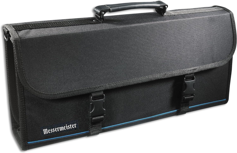Factory outlet Messermeister 17-Pocket Knife Case with Ranking TOP17 Storage Lu Large Pocket