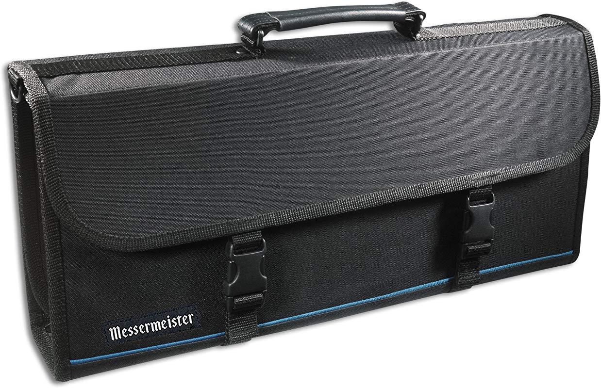 Messermeister 17 Pocket Knife Case Luggage Grade And Water Resistant Black