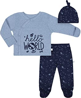 Baby Boys' 3-Piece Organic Take Me Home Outfit