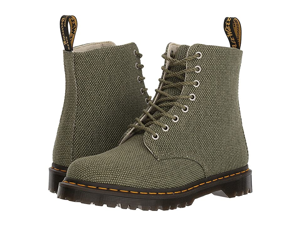 Dr. Martens Pascal (Capulet Olive Millitary Heavy Canvas) Boots