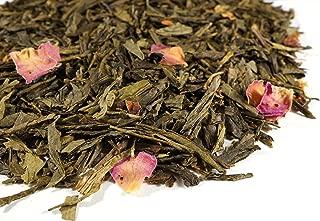 Cherry Blossom Green Tea Sampler. Gourmet Loose Tea Sample Makes 3-5 Servings. Beantown Tea & Spices Brand. (Cherry Blossom Green Tea)