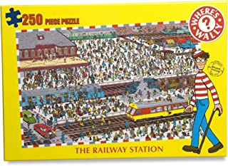 The Railway Station - Where's Wally? 250 Piece Jigsaw Puzzle 7010