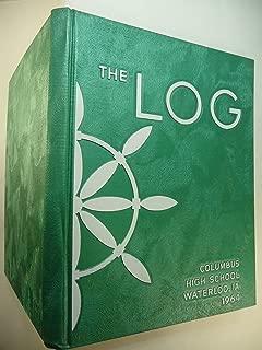 1964 Columbus High School Waterloo Iowa yearbook THE LOG