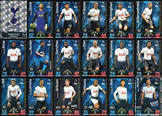 MATCH ATTAX 2018/19 18/19 Tottenham Full 18 Card Team Set - Spurs