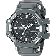 Timex Men's Tactic DGTL Big Combo Resin Strap Watch