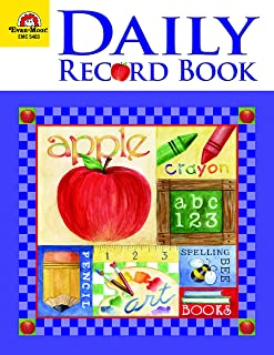 Daily Record Book, School Days