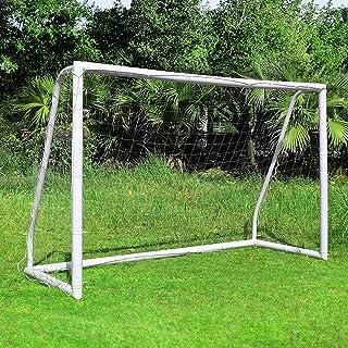 femor fotbollsmål, fotbollsmål med ett klicksystem, träningsfotbollsnät för trädgård, inomhus, bakgård, strand under alla ...