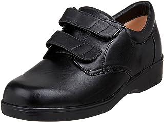 حذاء رياضي رجالي من Apex مزود بشريط مزدوج مزود بخطاف وحلقة من قماش أكسفورد، أسود، مقاس 15 متوسط أمريكي