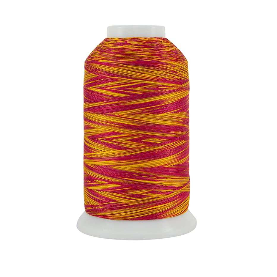 Superior Threads 121029XX929 Chariot of Fire 3-Ply 40W King TUT Cotton Quilting Thread, 2000 yd