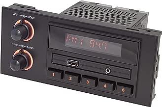 RetroSound NEW-270-670 Newport Black 1.5 DIN Direct-Fit Radio