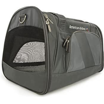 Sherpa Travel American Airlines Duffle Pet Carrier, Medium, Charcoal