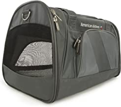 Sherpa American Airlines Duffel Airline Approved Pet Carrier, Charcoal, Medium (Frustration Free Packaging)