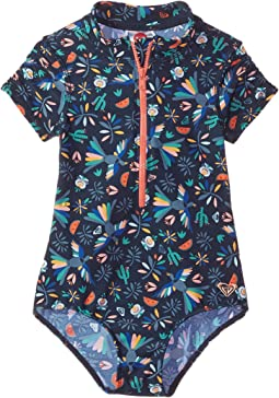 Roxy Kids - Birdy One-Piece Corolle Rashguard (Toddler/Little Kids/Big Kids)