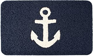 Kikkerland Anchor Doormat, 30 by 18-Inch