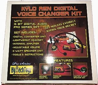 HYTECHTOYZ PRO Series Helmet Voice Changer System - Sound Like Kylo REN
