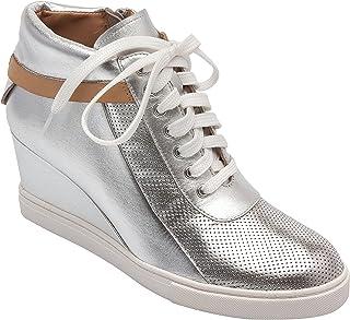 ed29e2fc6a74 Amazon.com  Silver - Oxfords   Shoes  Clothing