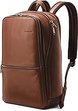 쌤소나이트 클래식 가죽 슬림 백팩 - 2 컬러 Samsonite Classic Leather Slim Backpack