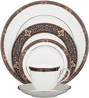 Lenox Vintage Jewel Platinum-Banded Bone China 5-Piece Place Setting 5-Piece Place Setting 104291602