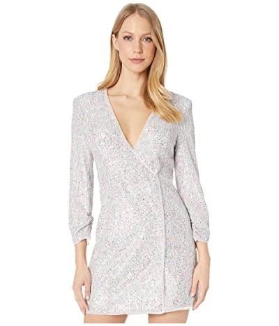 BCBGMAXAZRIA Sequin Dress (French Rose Combo) Women