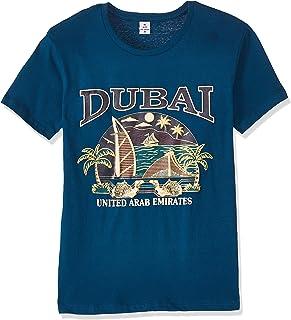 Dubshi D115 Men's Dubai T-shirt, Blue