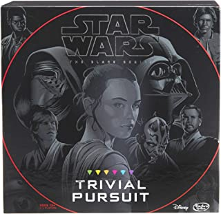 Hasbro Trivial Pursuit: Star Wars the Black Series Edition - Test Your Knowledge with Over 1,800 Easy To Extremely Difficu...