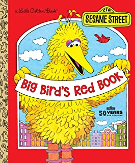 Big Bird's Red Book (Sesame Street) (Little Golden Book)