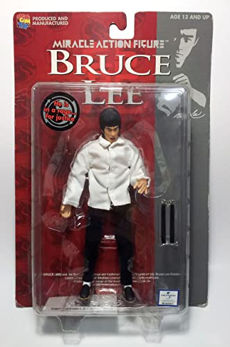 Bruce Lee Miracle Action-Figur (Weiß)
