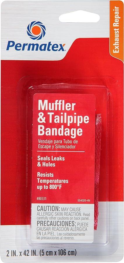 Permatex Muffler Tailpipe Putty x 2 Satchet 113g