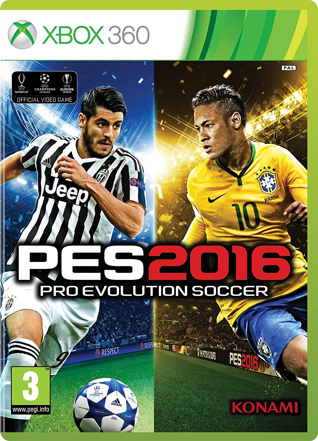 In a popularity Pro Evolution Soccer 2016 New life Xbox 360 Standard Edition