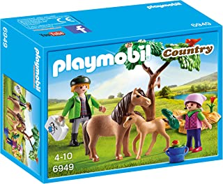 Playmobil Granja de Ponis - Veterinario con Ponis (6949)