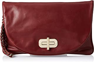 Tommy Hilfiger Clutch for Women-Cabernet
