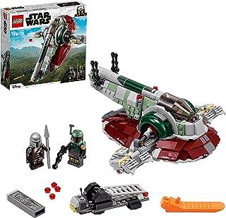 LEGO 75312 Star Wars Boba Fetts Starship, Bauset Für Kinder Ab 9 Jahren, Mandalorian-Modell Mit 2 Minifiguren, Geschenkidee